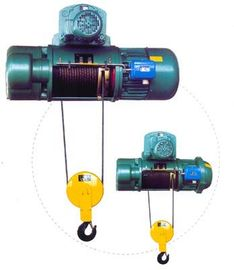 Cina Transfer Cars Electric Wire Rope Hoists with Lifting Capacity 0.5~50ton CD, MD Type pabrik