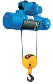 Cina 0.5 - 50 Ton Lifting Capacity Electric Portable Crane Hoist For Heavy Duty Industrial pabrik