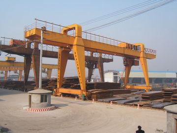 Cina MG120t - 32m - 22m Double Beam Gantry Crane For Steel Factory / Port / Shipbuilding Distributor